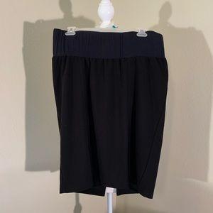 Black Duo Maternity Skirt!